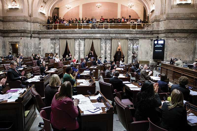 Evergreen's legislative internship program
