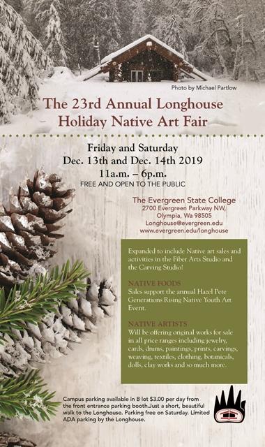 Longhouse Holiday Native Art Fair