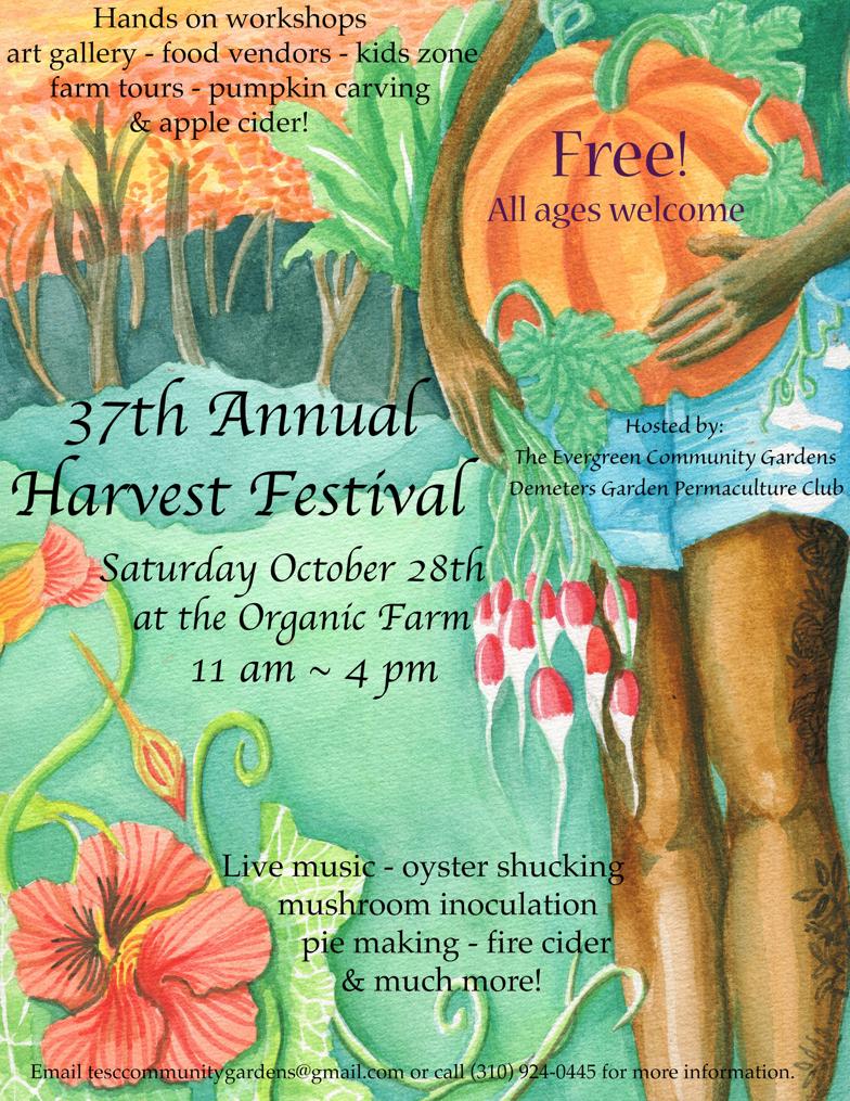 37th Harvest Festival Poster