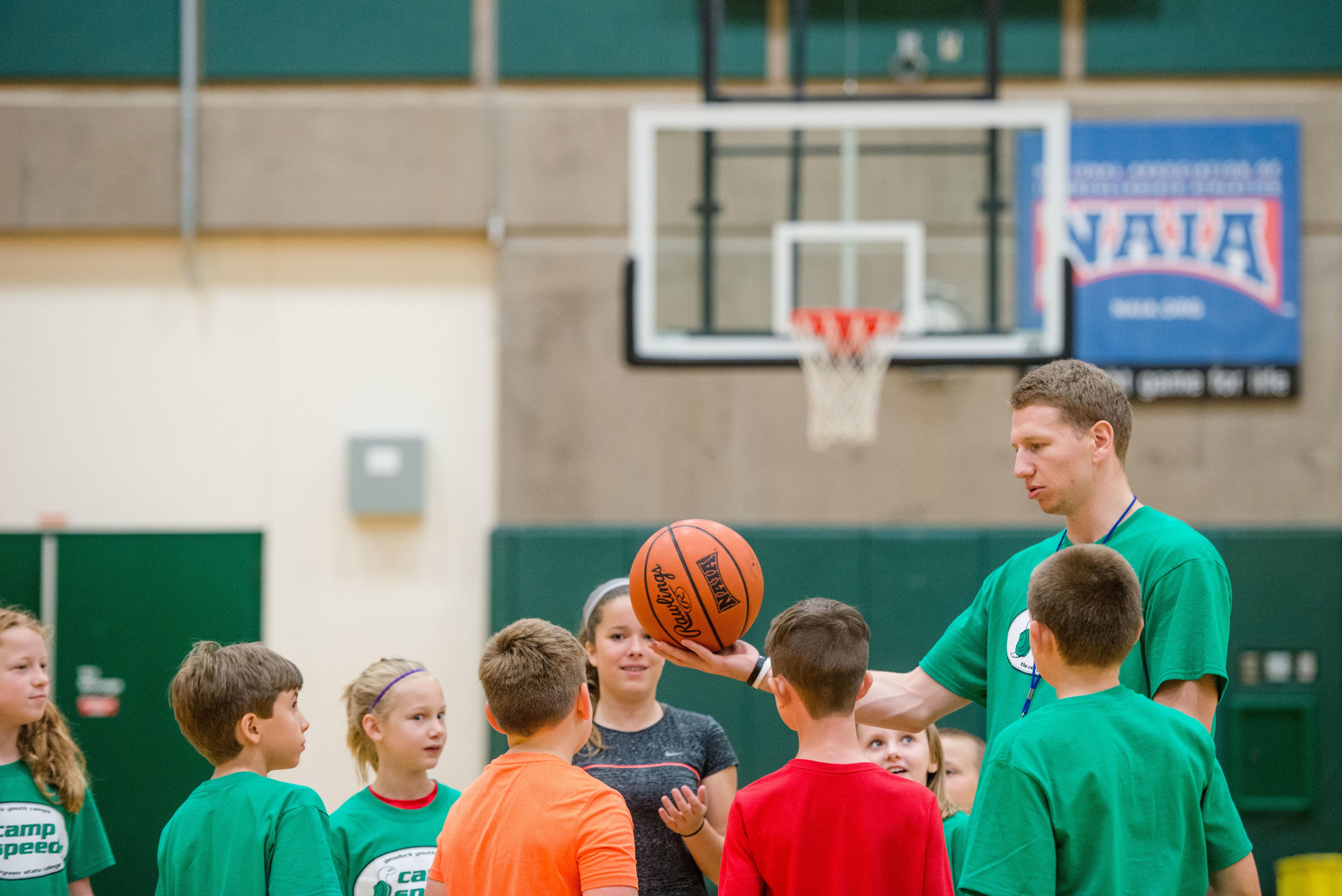 Basketball Camp Speedy