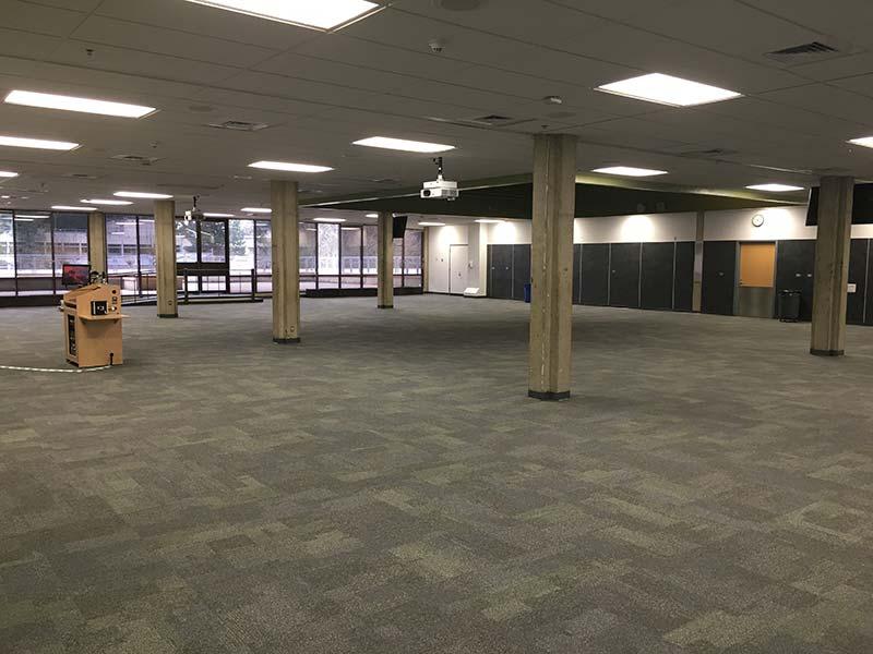 Empty Event Hall