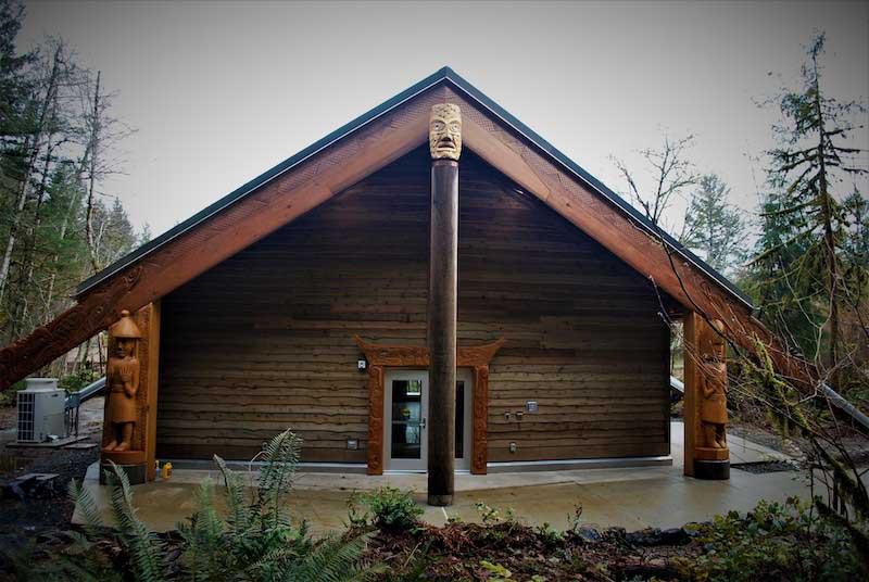 Fiber Arts Studio Northwest Entrance