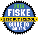 "2019 Fiske Guide to Colleges ""Best Buy School""—Learn more."