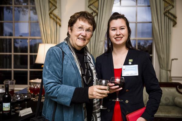 Alumni Raise a Glass to Evergreen