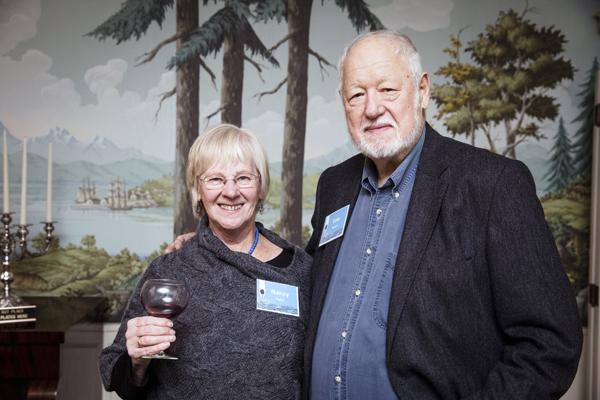 Nancy Taylor and Tom Rainey