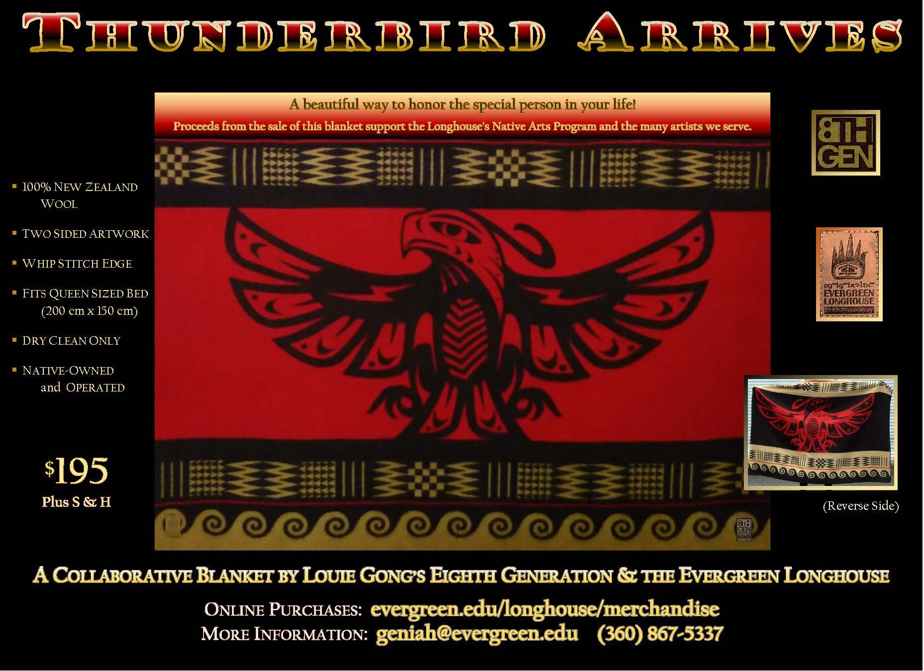Thunderbird Arrives Blanket