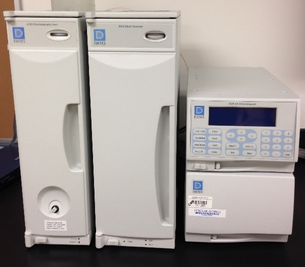 Image of Dionex Ion Chromatograph IC25A