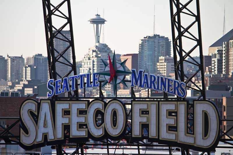 Four tickets to a Mariner's game. Donated by David Lamb.
