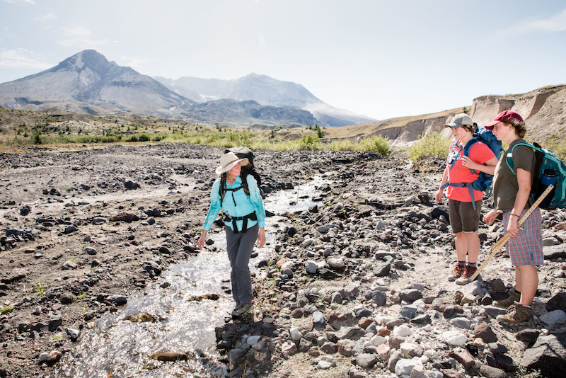 Evergreen Helps Improve Understanding of Mt. St. Helens Eruption Recovery