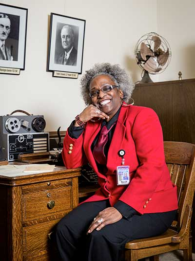 Merrill Williams at Washington State Capitol