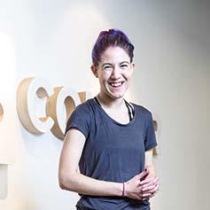 Web Fellow Naomi Touchet now works at Concur