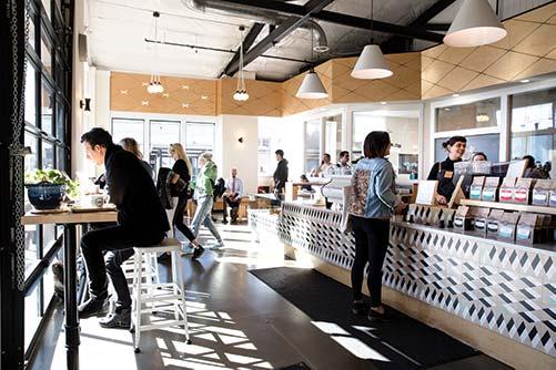 Olympia Coffee Roasting Co. Cafe