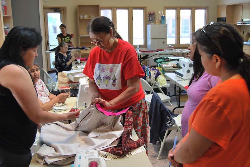Plateau dressmaking workshop