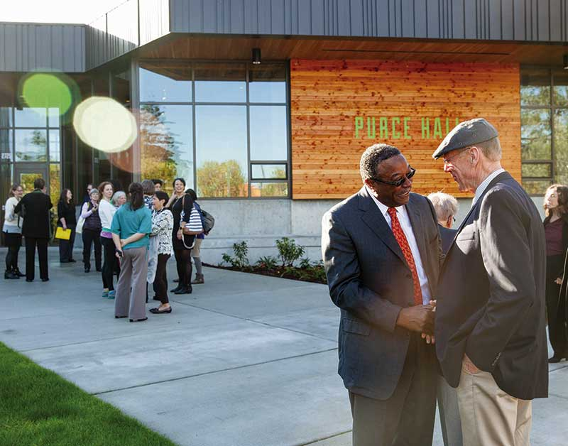 Purce Hall Dedication Ceremony