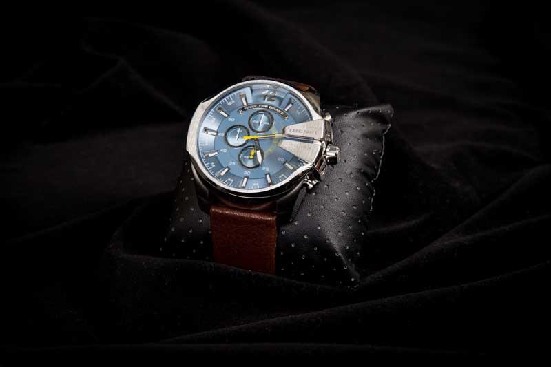 Diesel Watch. Donated by Lexus of Fife.