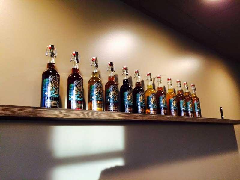 Tasting Tour at Salish Sea Organic Liqueurs. Donated by Salish Sea Organic Liqueurs.