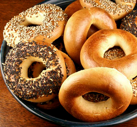 A Month of New York Bagels • Value: $50