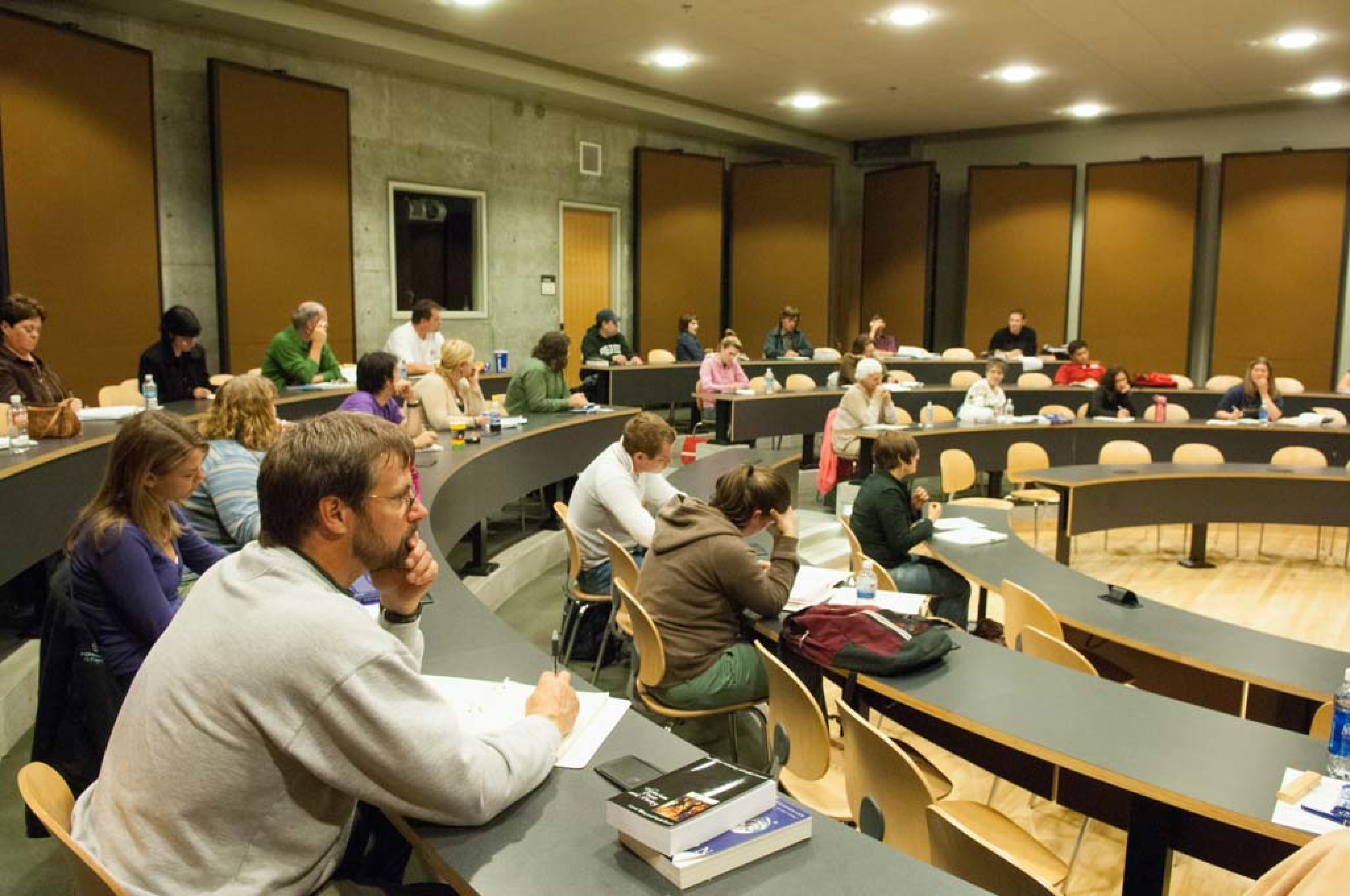 SEM2 Lecture Hall with Students