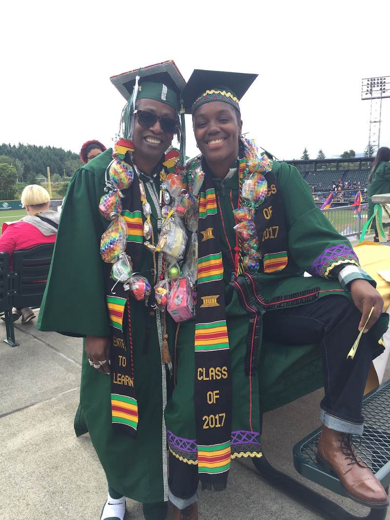 Merrial and Sham at Graduation