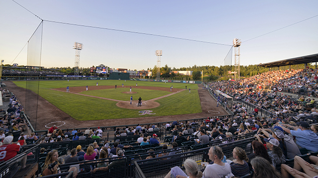 VIP Experience with the Rainiers. Donated by the Tacoma Rainiers.