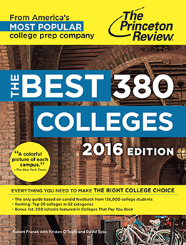 As seen in The Princeton Review Best Colleges—Learn more.