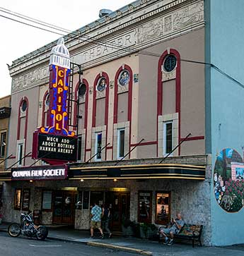 The Capitol Theater in downtown Olympia
