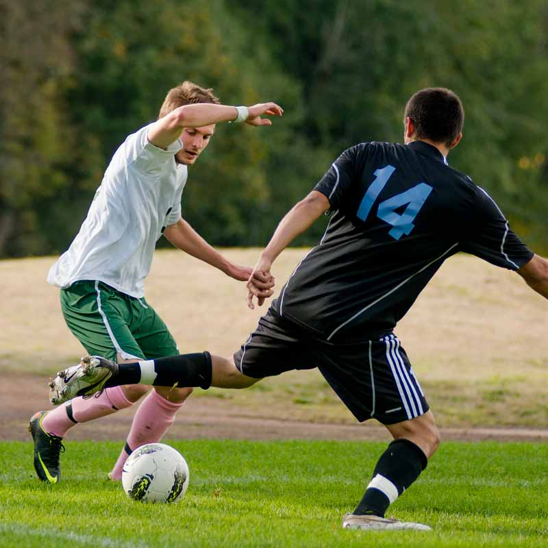 Soccer on the Fields
