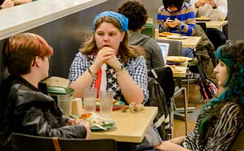 Lunch at the Greenery