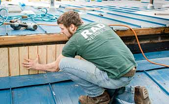 Reroofing Campus Housing