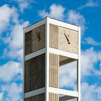 clock tower summer