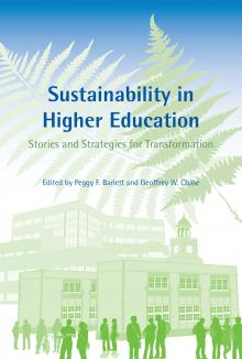 Sustainability in Higher Education Book Cover