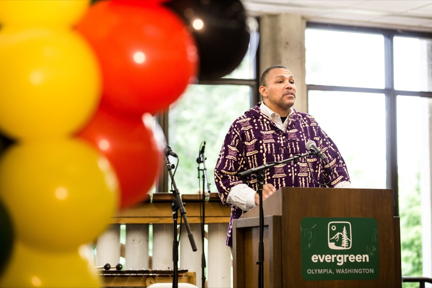 Celebrating Black Accomplishment, History and Leadership at The Evergreen State College's Juneteenth