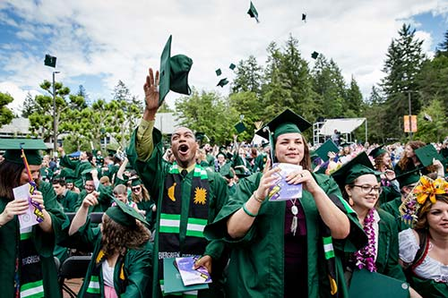Evergreen and SPSCC to Celebrate 2019 Graduates at Evergreen