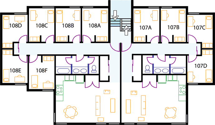 apartment layout design apartments the evergreen state college 10139