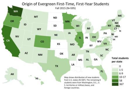 Data Maps The Evergreen State College