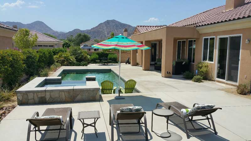 A Week in Sunny La Quinta. Donated by Deborah '88 and John Barnett '93.