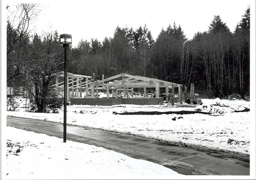 Longhouse construction 1994