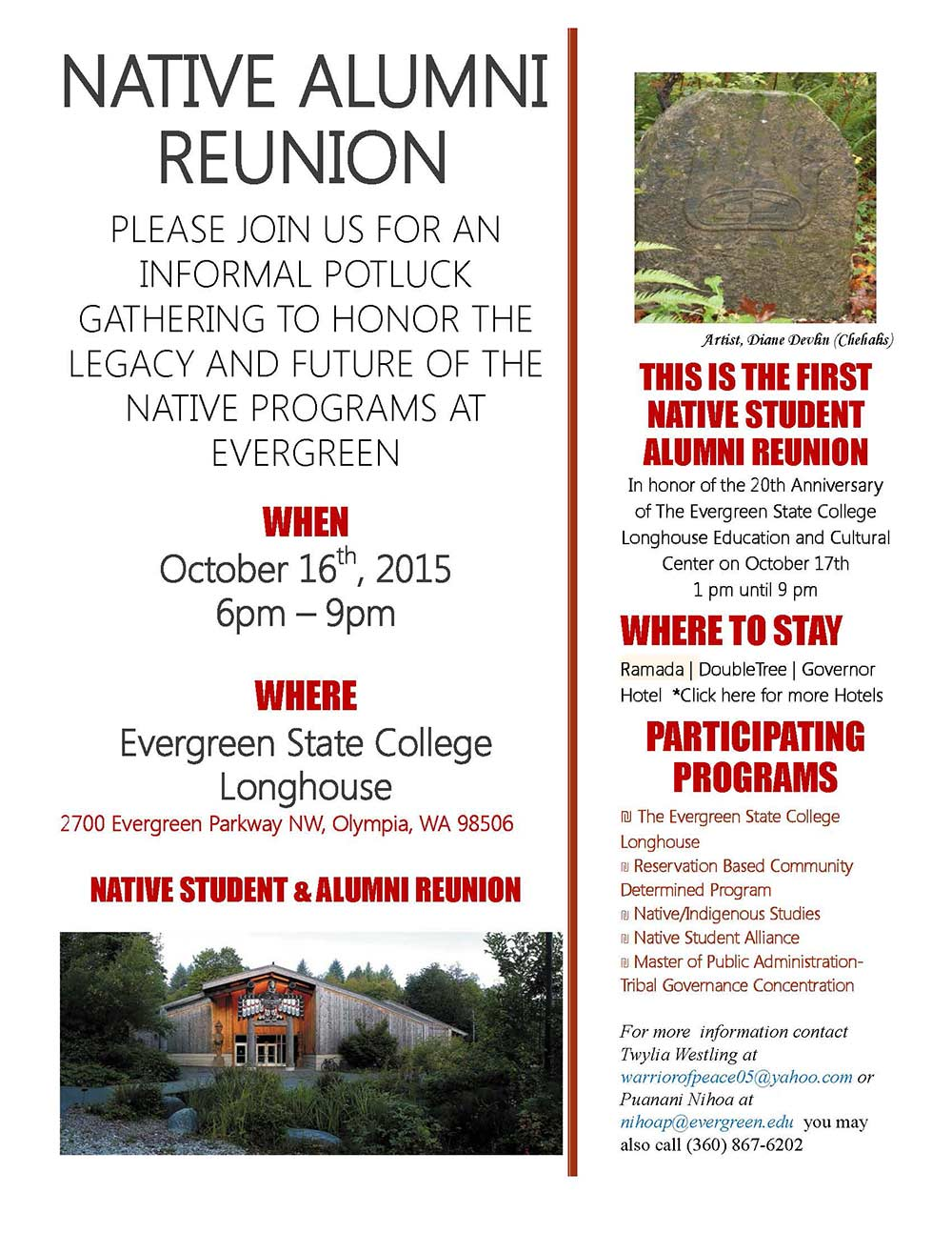 Native Programs Alumni Reunion