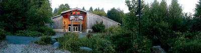 the evergreen state college longhouse