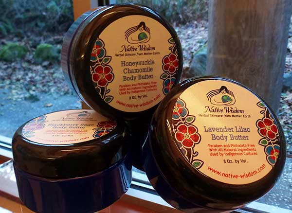 Native wisdom body butters