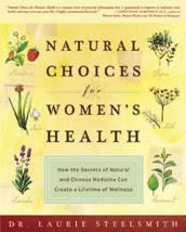 Book cover, Natural Choices for Women's Health