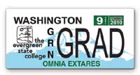 New Greener License Plate