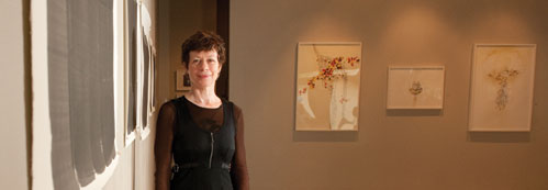 Catherine Person in her gallery