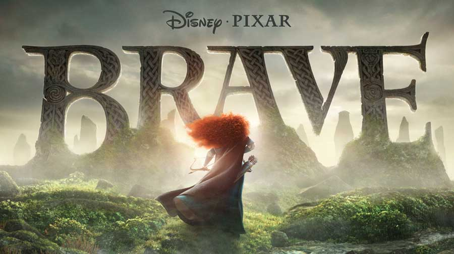 Movie Poster for Brave