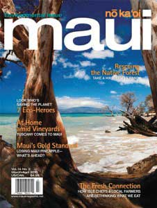 Maui No Ka 'Oi Magazine Cover
