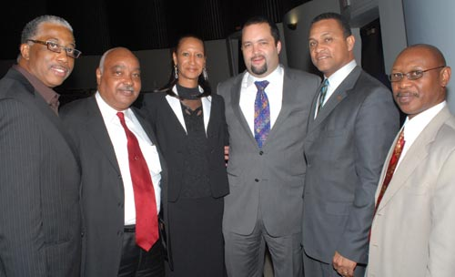 Tillman with others at a NAACP Conference, 2009