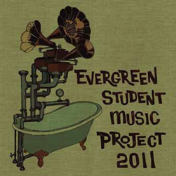 Evergreen Student Music Project cover art 2011