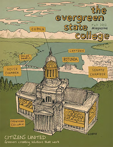 Cover of Fall 2012 Magazine