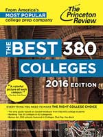 Picture of The Princeton Review's Best 380 Colleges book.