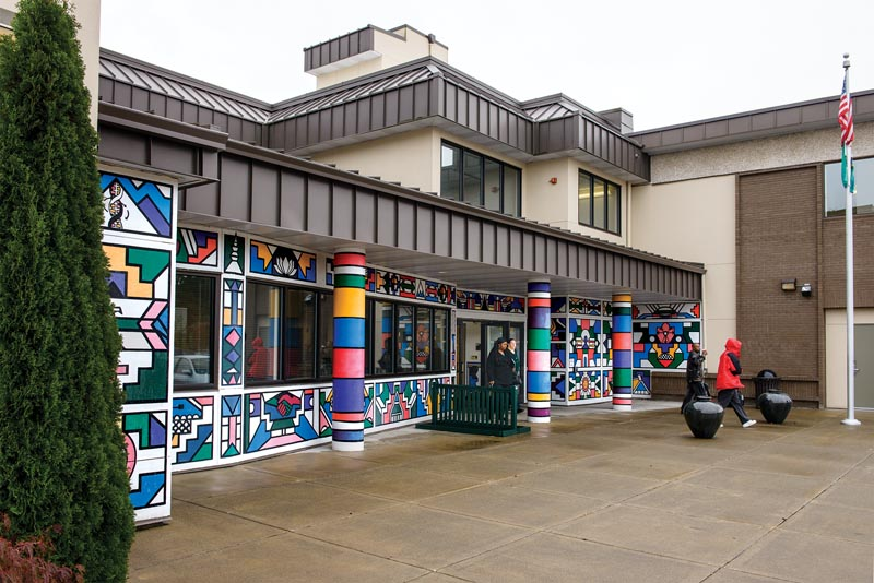 The Tacoma Campus Murale